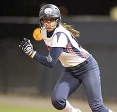 Jaguar Softball Player
