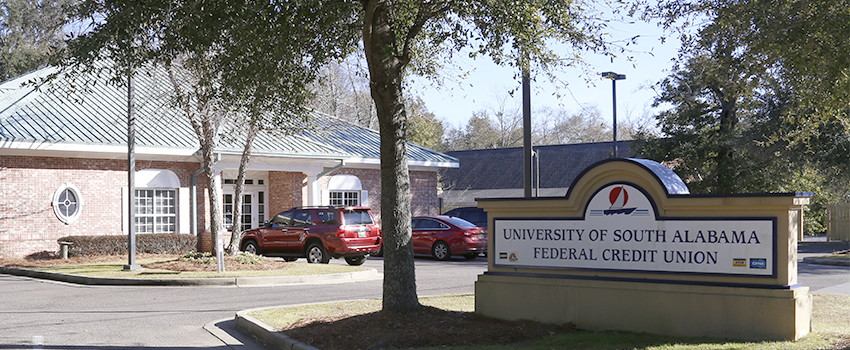 USA Federal Credit Union Building and Sign